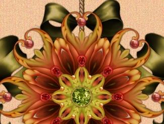 September Blush Ornament Thumb